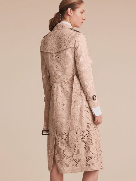 Macramé Lace Wrap Trench Coat - Women | Burberry - cell image 2