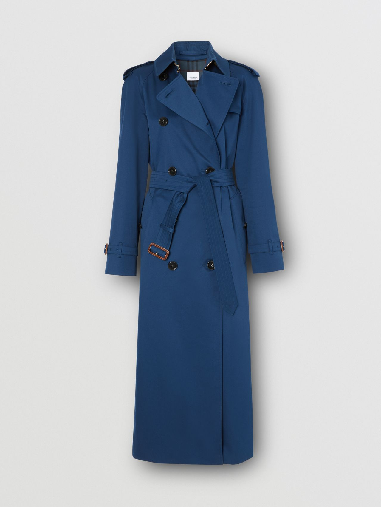 Trench coat The Waterloo extra lungo (Blu Inchiostro)