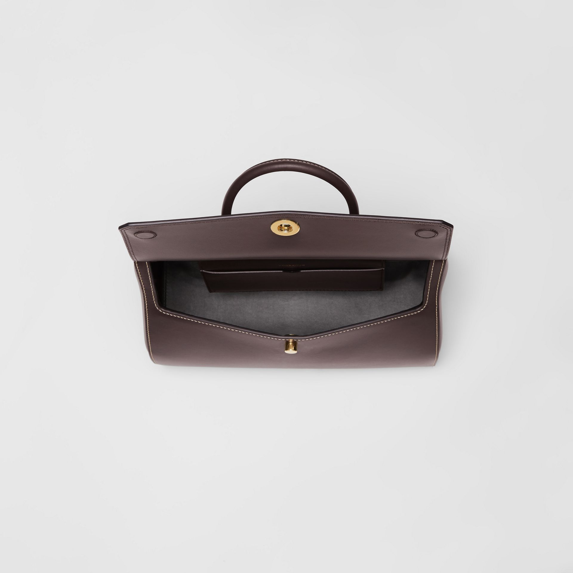 Small Leather Elizabeth Bag in Coffee - Women | Burberry - gallery image 3