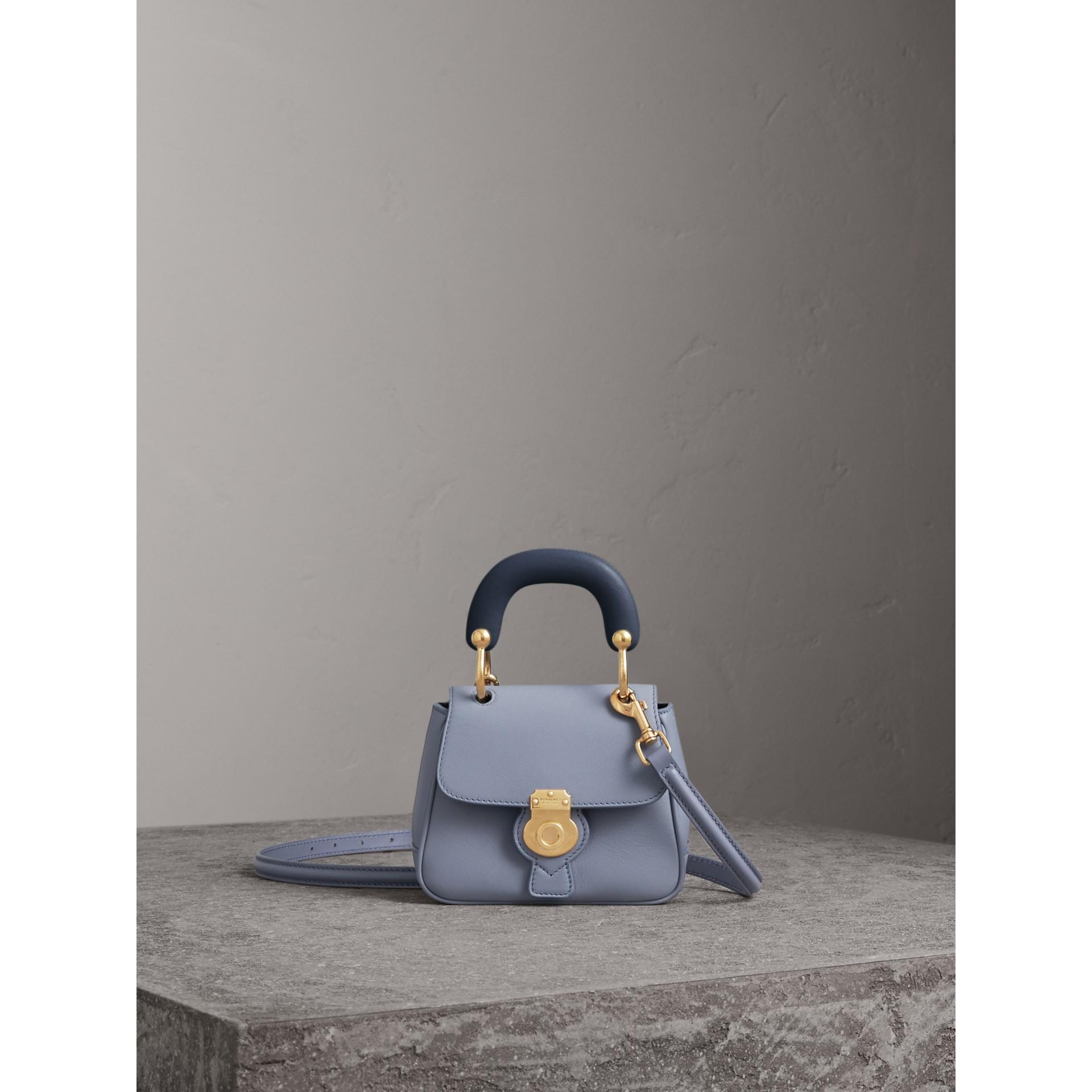The Mini DK88 Top Handle Bag in Slate Blue - Women | Burberry - gallery image 1