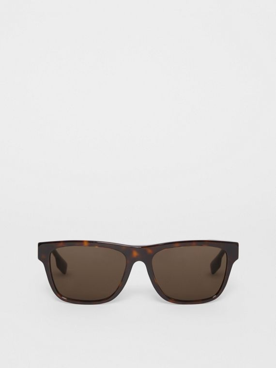 Square Frame Sunglasses in Tortoiseshell