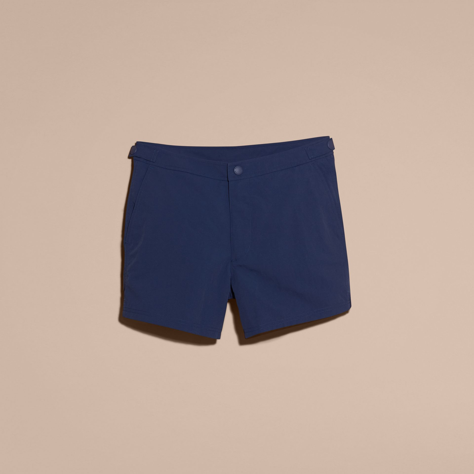 Tailored Swim Shorts in Bright Navy - Men | Burberry - gallery image 4