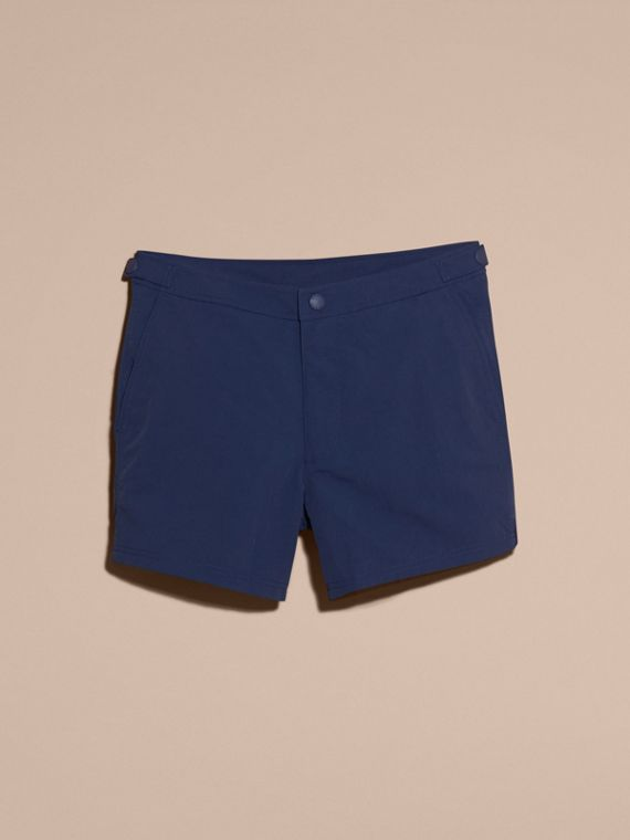 Tailored Swim Shorts in Bright Navy - Men | Burberry