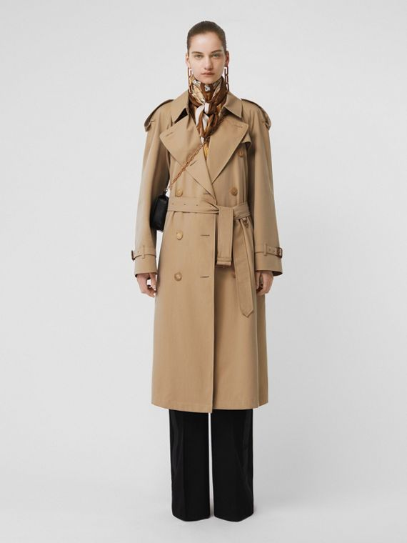 Trench coat Heritage Westminster largo (Miel)