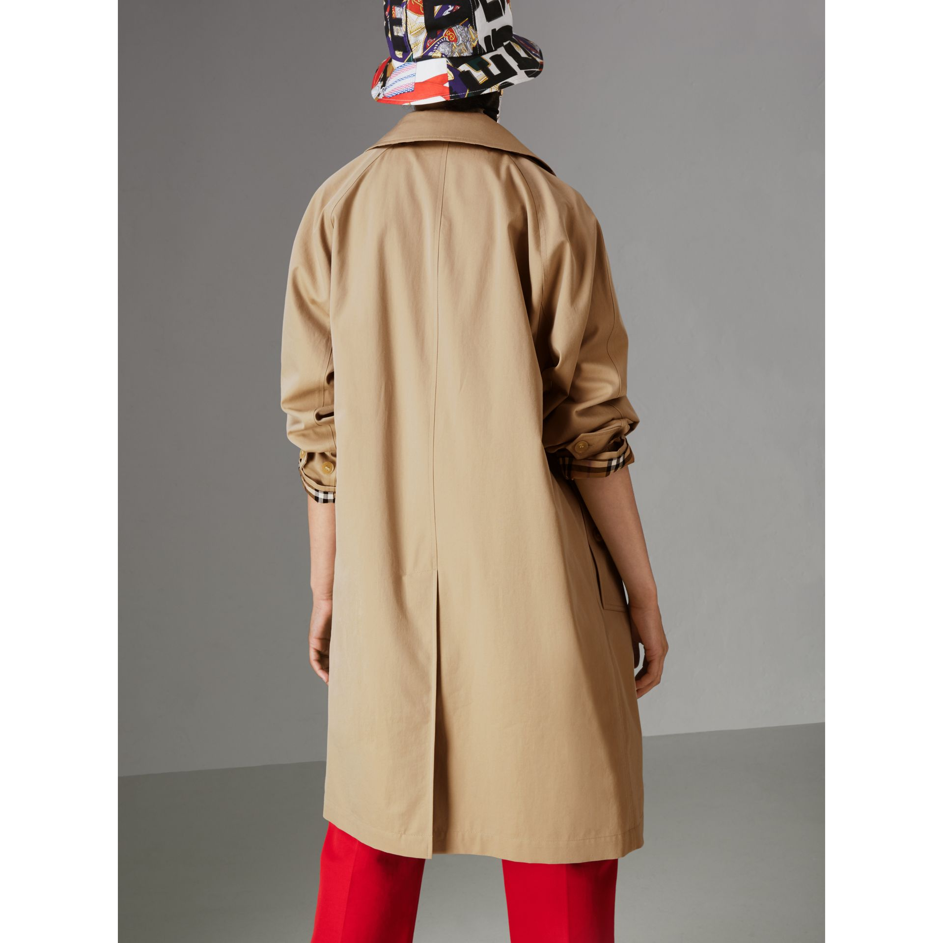 The Camden Car Coat in Honey - Women | Burberry - gallery image 2