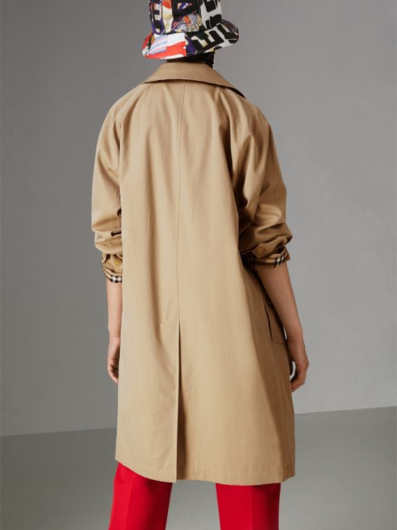 The Camden Car Coat in Honey - Women | Burberry - cell image 2