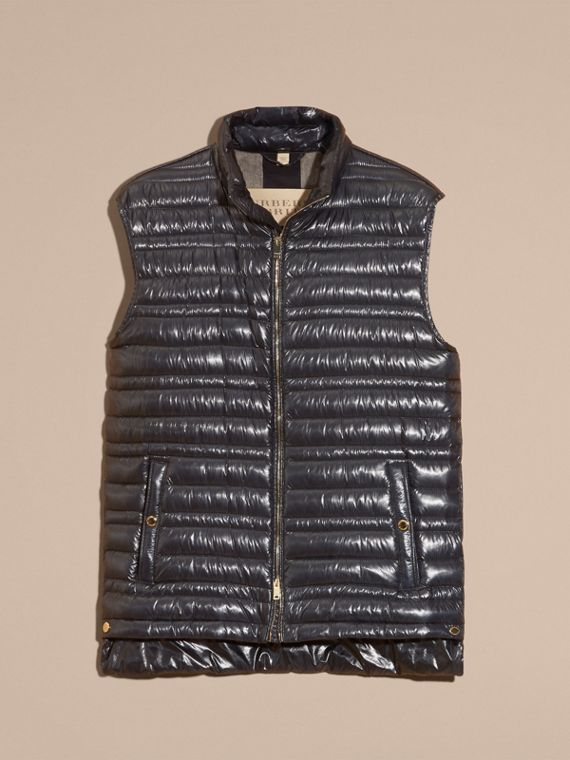 Navy Lightweight Down-filled Gilet Navy - cell image 3