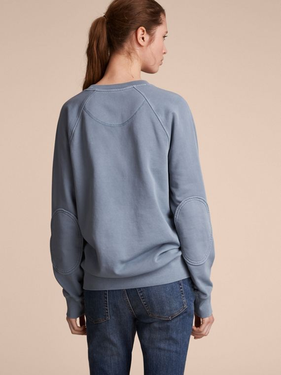 Unisex Pigment-dyed Cotton Oversize Sweatshirt - cell image 2