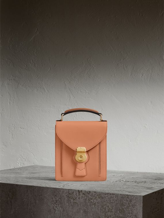 The Small DK88 Satchel in Pale Clementine