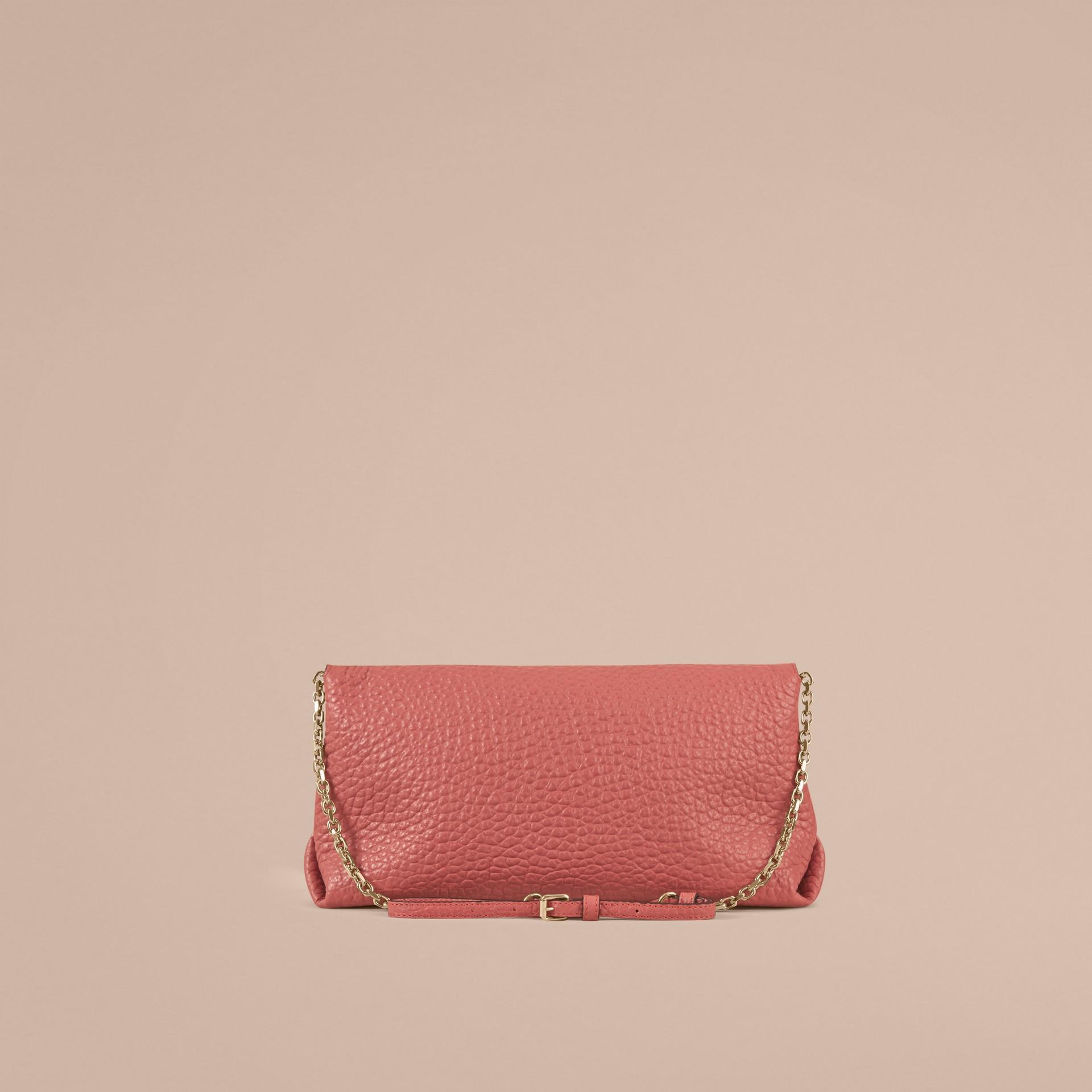 Rosa antico Pochette media in pelle a grana Burberry Rosa Antico - immagine della galleria 3