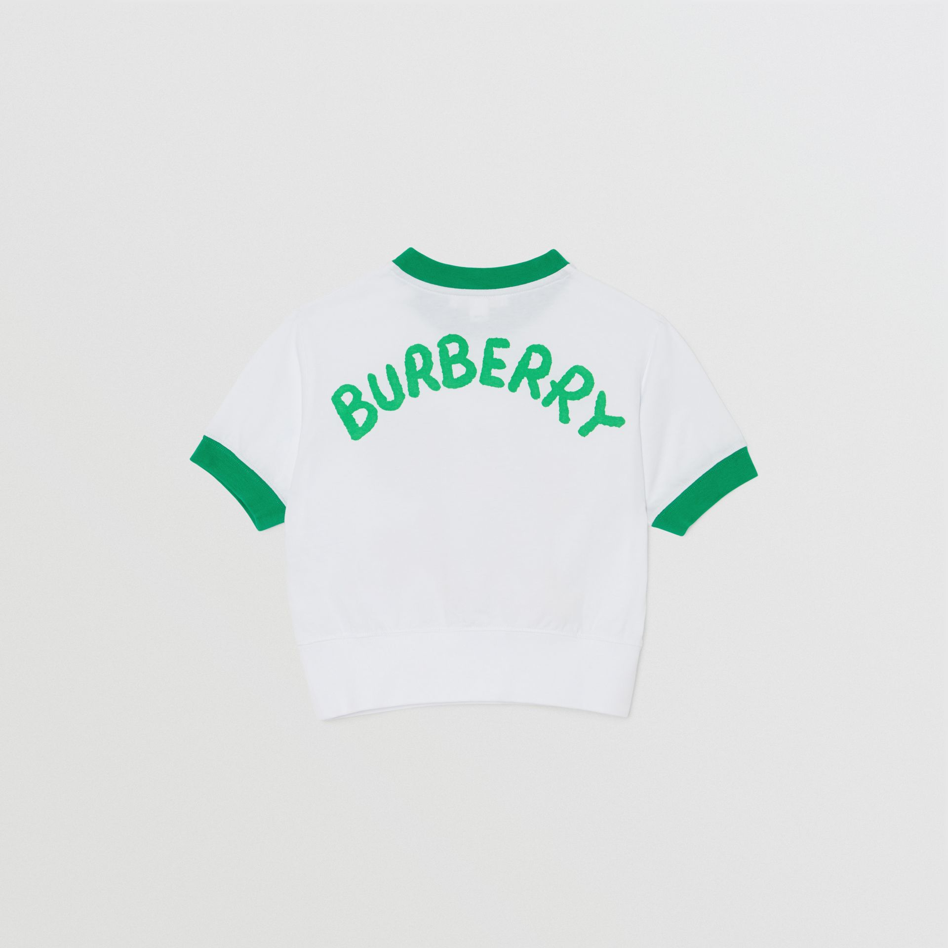 T-shirt en coton avec imprimé Cartoon (Blanc) - Fille | Burberry Canada - photo de la galerie 3