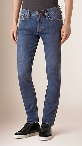 Slim Fit Japanese Denim Jeans