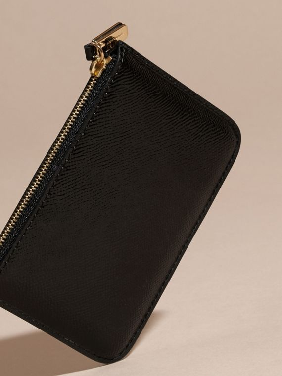 Pochette en cuir London verni - Femme | Burberry - cell image 3
