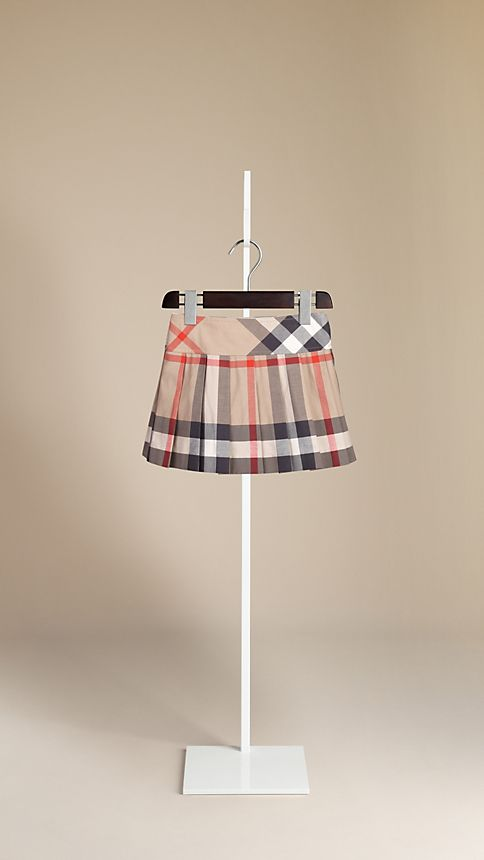 New classic Check Pleated Kilt - Image 2