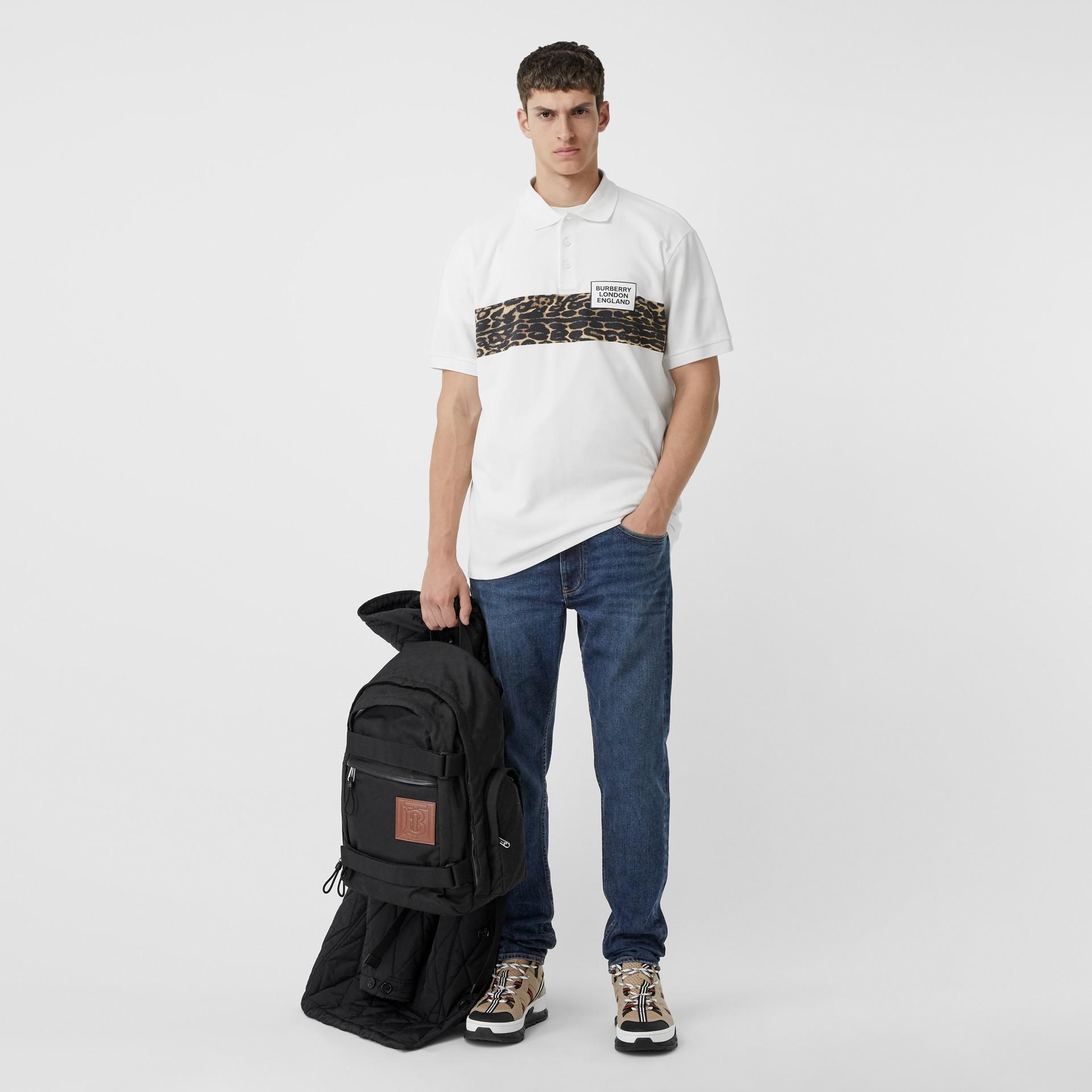 Slim Fit Washed Denim Jeans in Dark Indigo - Men   Burberry - gallery image 0
