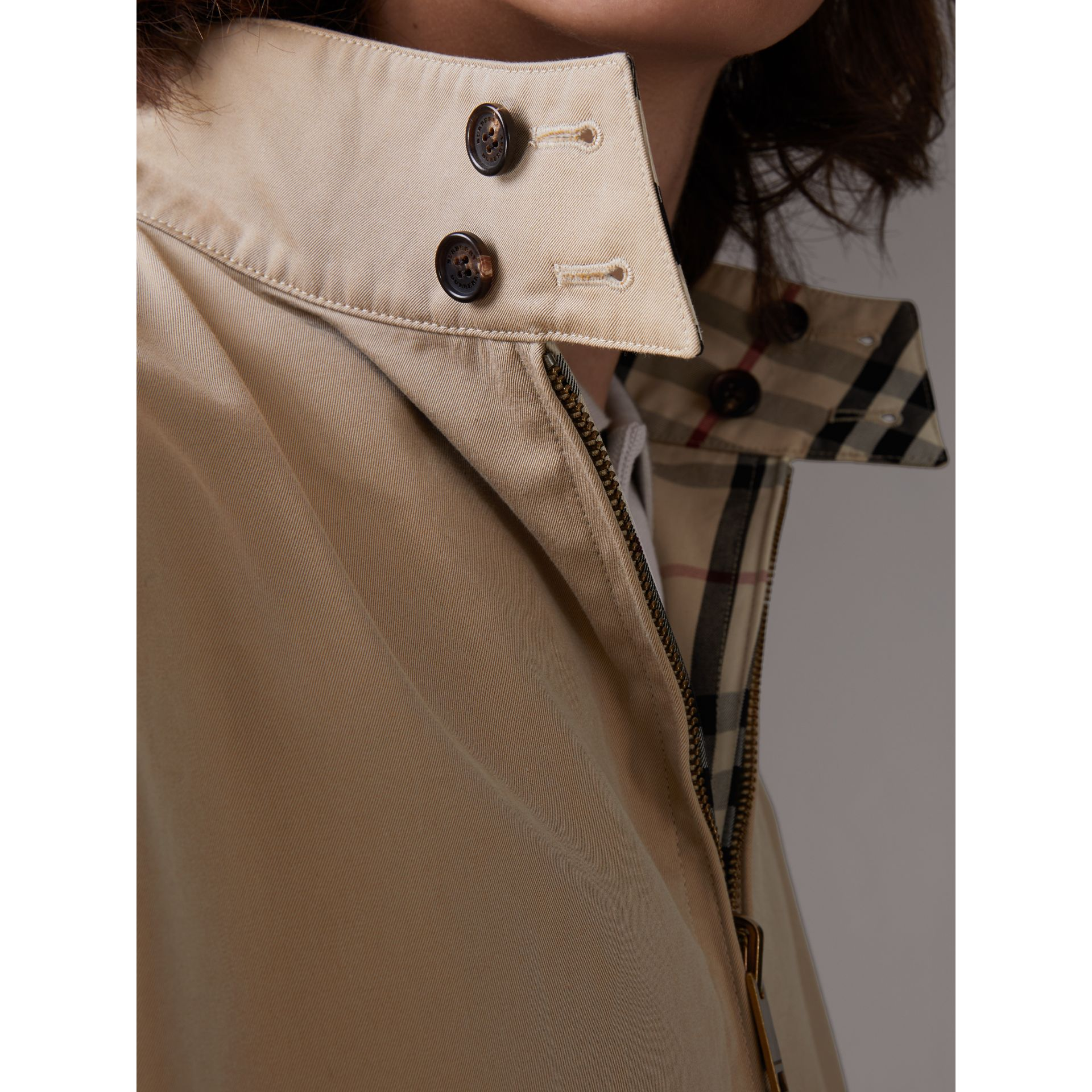 Gosha x Burberry Reversible Harrington Jacket in Honey | Burberry Singapore - gallery image 1