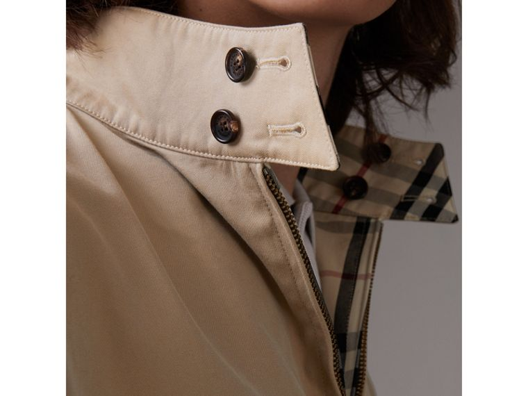 Gosha x Burberry Reversible Harrington Jacket in Honey | Burberry Australia - cell image 1