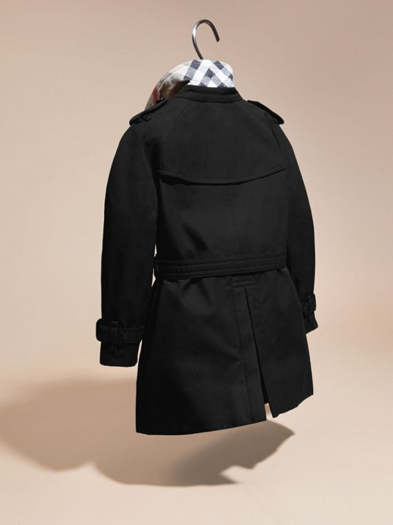 The Wiltshire – Heritage Trench Coat Black - cell image 3