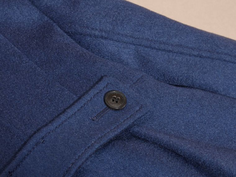 Tailored Cashmere Coat in Bright Navy - cell image 1