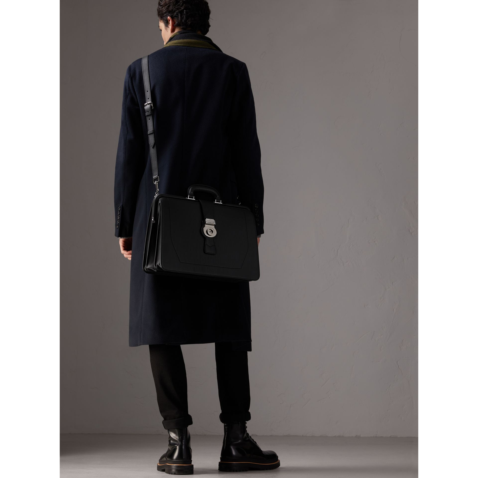 The DK88 Doctor's Bag in Black - Men | Burberry - gallery image 4