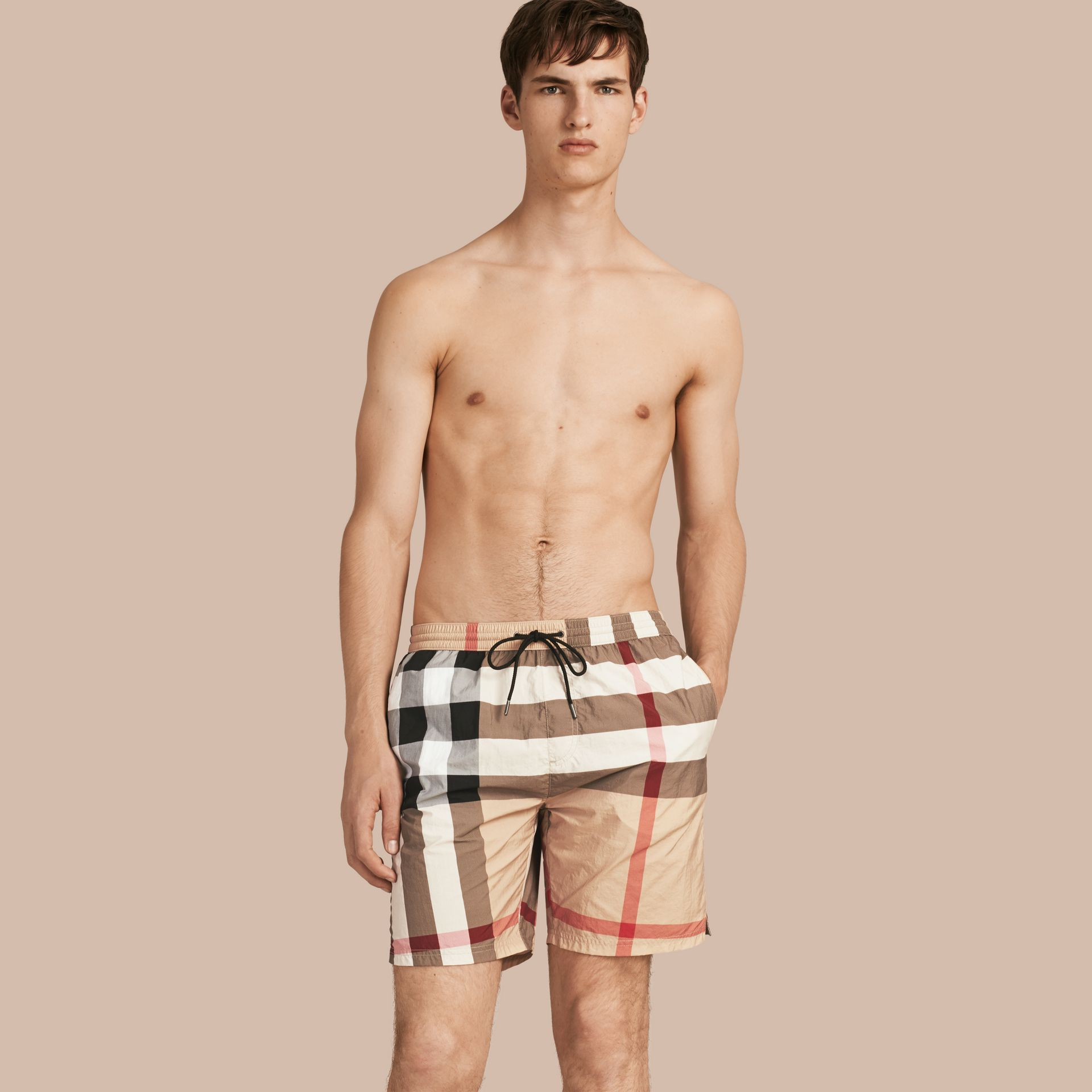 New classic check Check Swim Shorts New Classic - gallery image 1