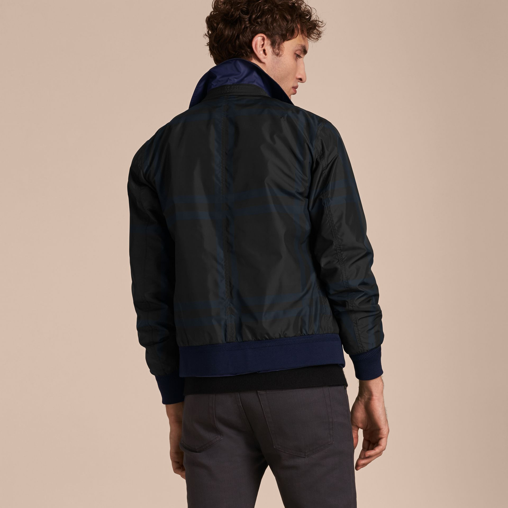 Reversible Technical Bomber Jacket - gallery image 6
