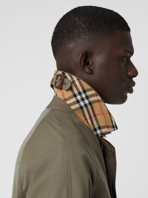 The Camden Car Coat in Chalk Green - Men | Burberry United Kingdom - cell image 1