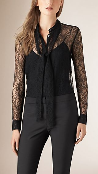 French Lace Shirt