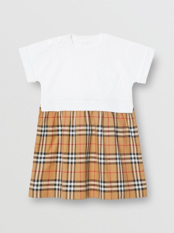 Платье в клетку Vintage Check (Белый)