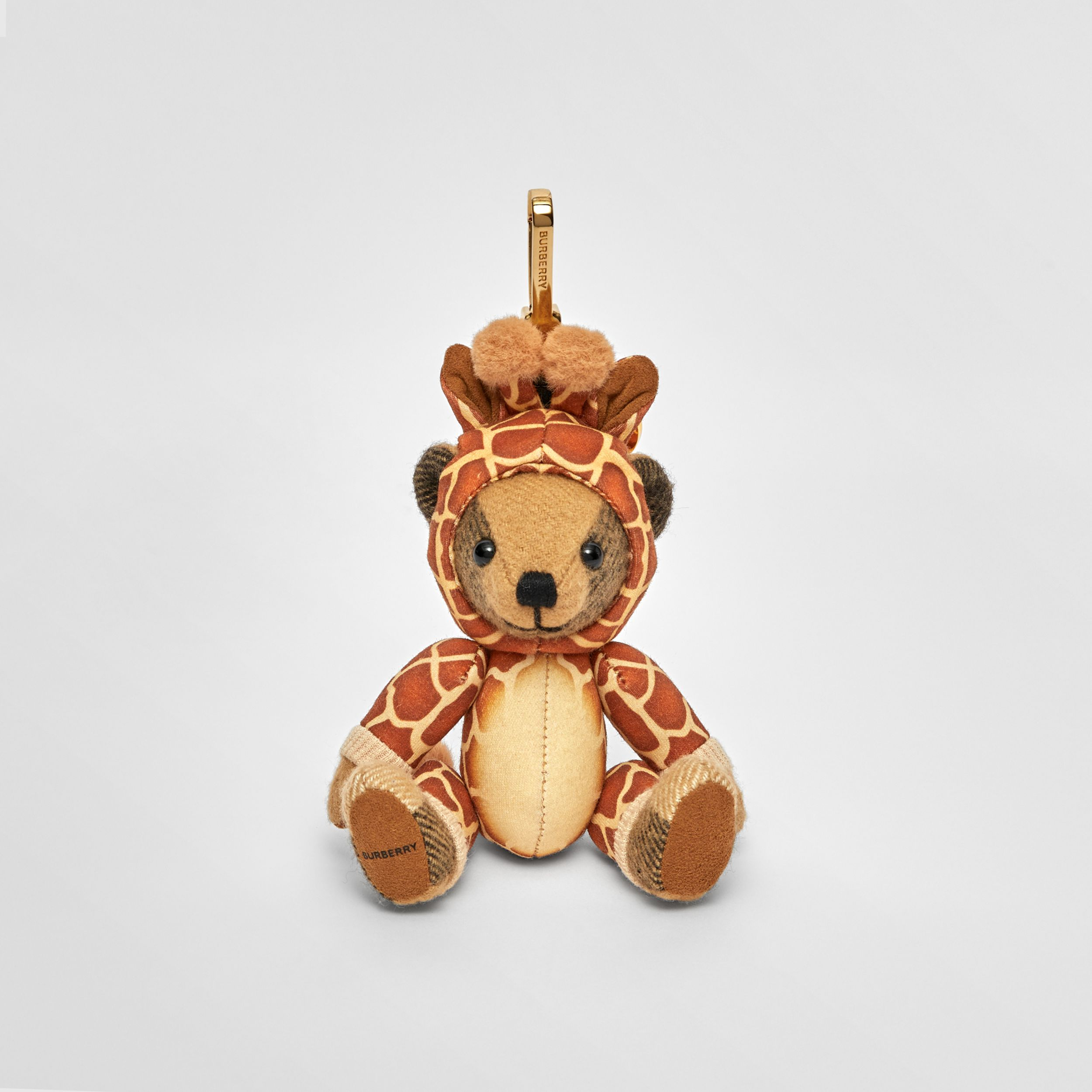 Thomas Bear Charm in Giraffe Costume in Archive Beige | Burberry - 3