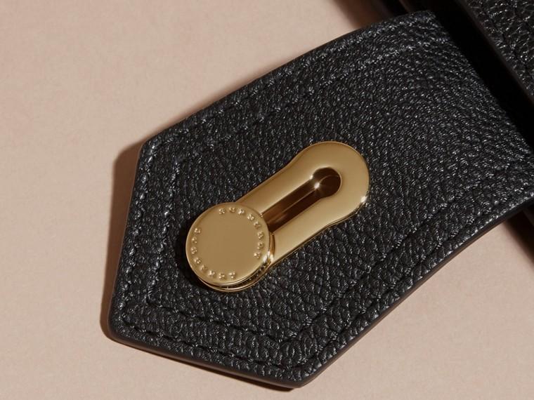 Noir Portefeuille en cuir grené Noir - cell image 1