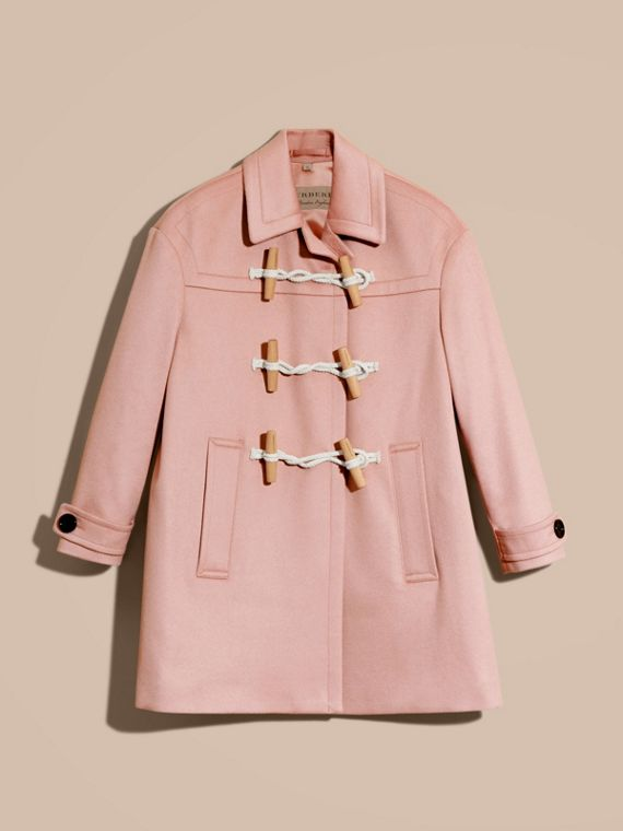Chalk pink Cashmere Duffle Coat Chalk Pink - cell image 3