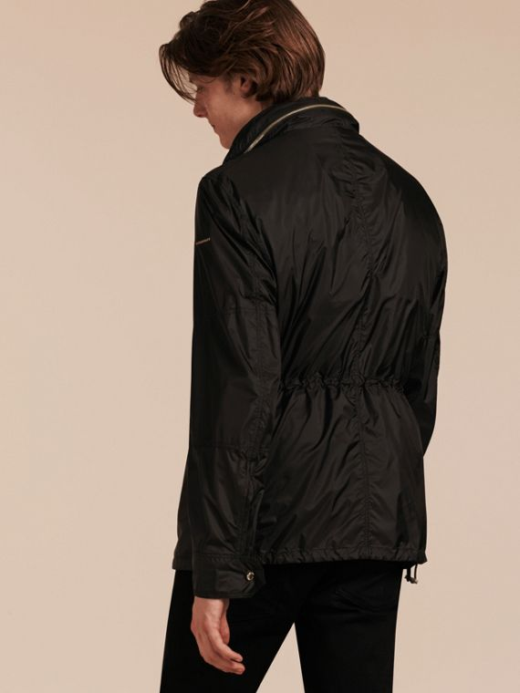 Black Ultra-lightweight Field Jacket with Removable Warmer - cell image 2