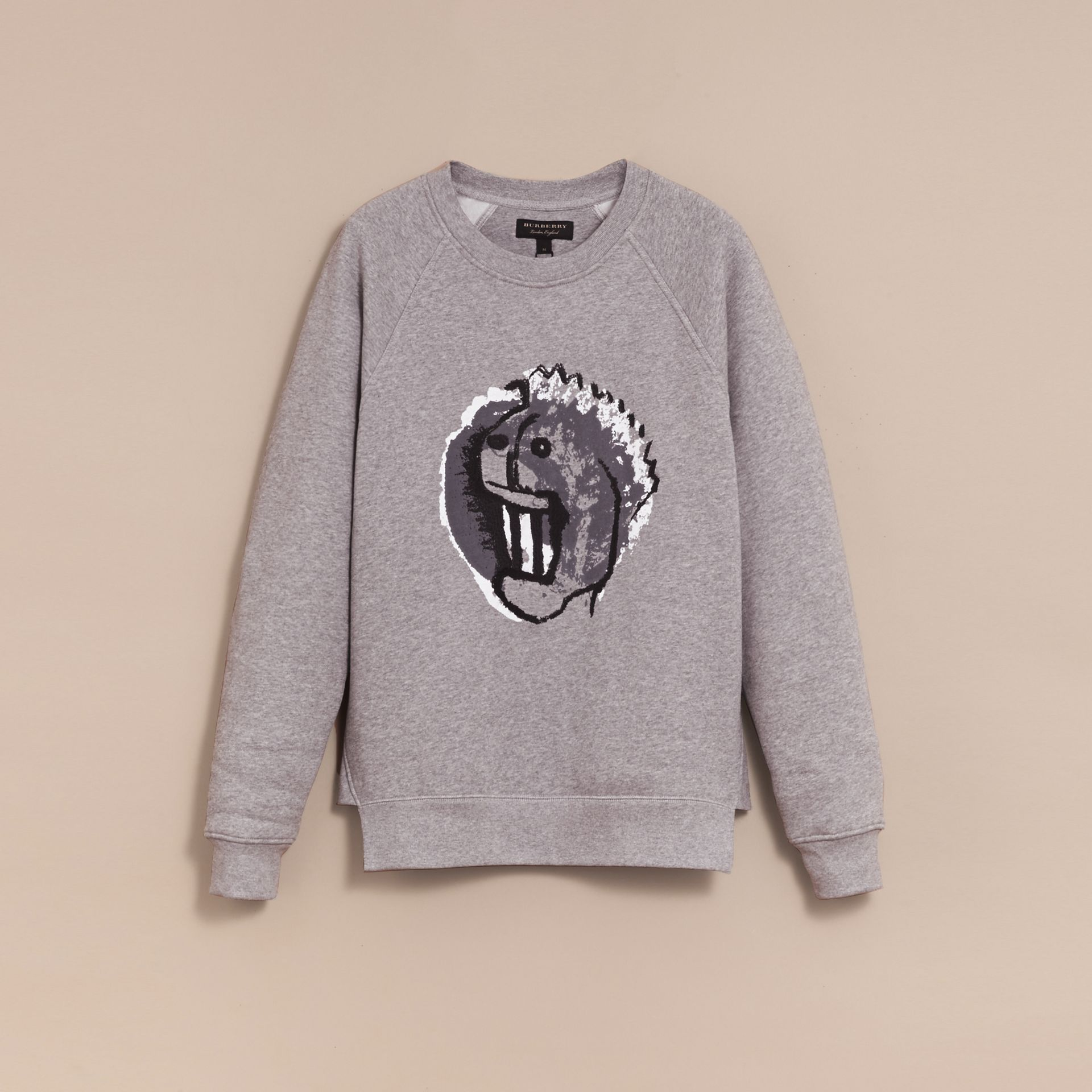 Unisex Pallas Heads Motif Sweatshirt - Men | Burberry - gallery image 4