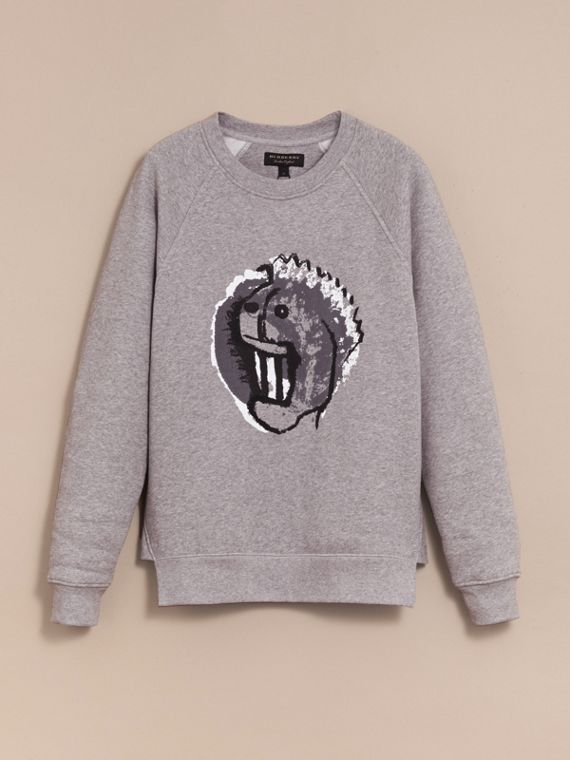 Unisex Pallas Heads Motif Sweatshirt - Men | Burberry - cell image 3