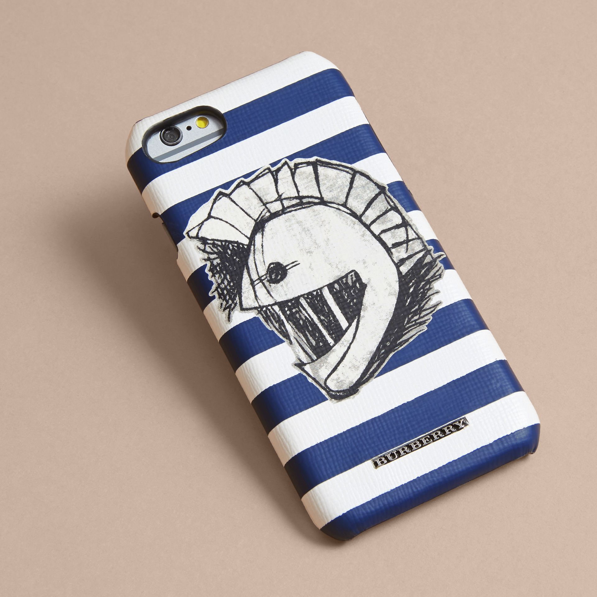 Pallas Helmet Motif London Leather iPhone 7 Case | Burberry - gallery image 3