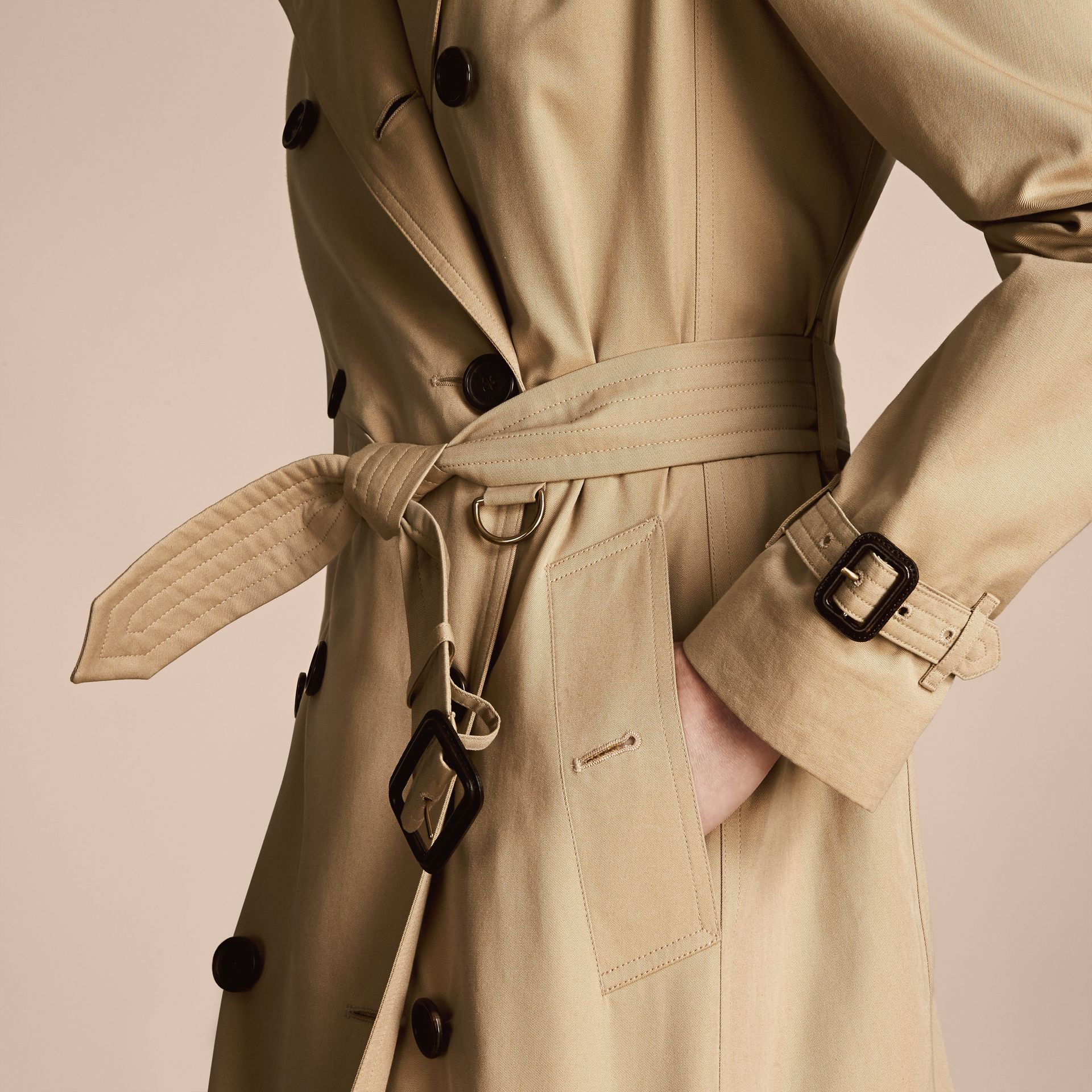 Miel The Kensington – Trench-coat Heritage mi-long Miel - photo de la galerie 7