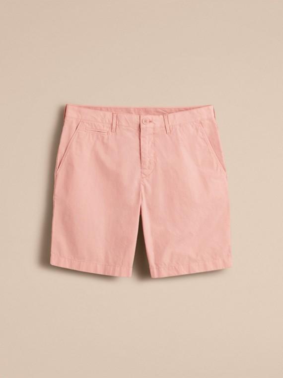Cotton Poplin Chino Shorts Apricot Pink - cell image 3