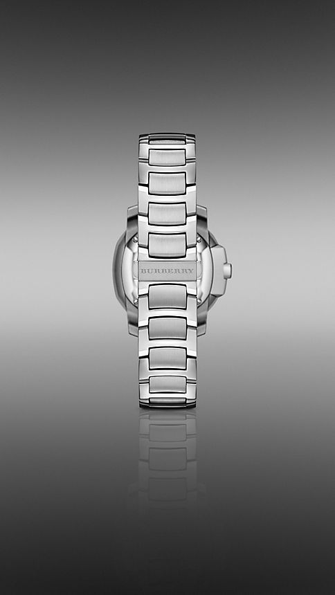 Steel The Britain BBY1805 34mm Diamond Indexes - Image 2