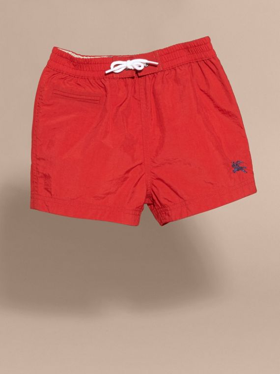 Quick-dry Swim Shorts in Military Red - cell image 3
