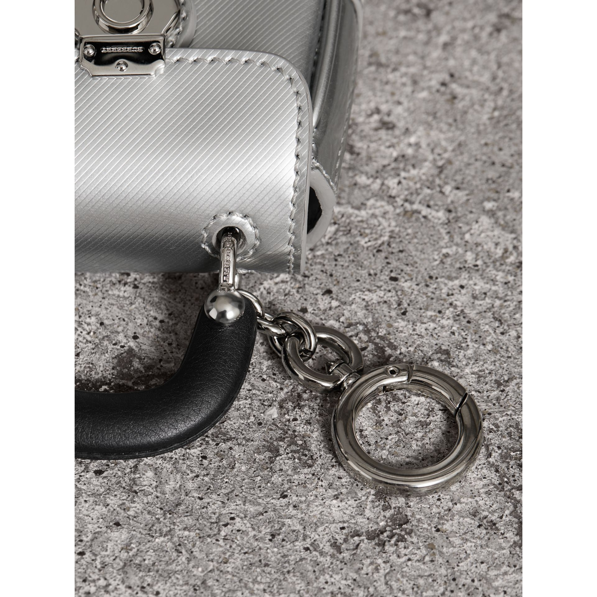 The DK88 Charm in Silver - Women | Burberry - gallery image 1