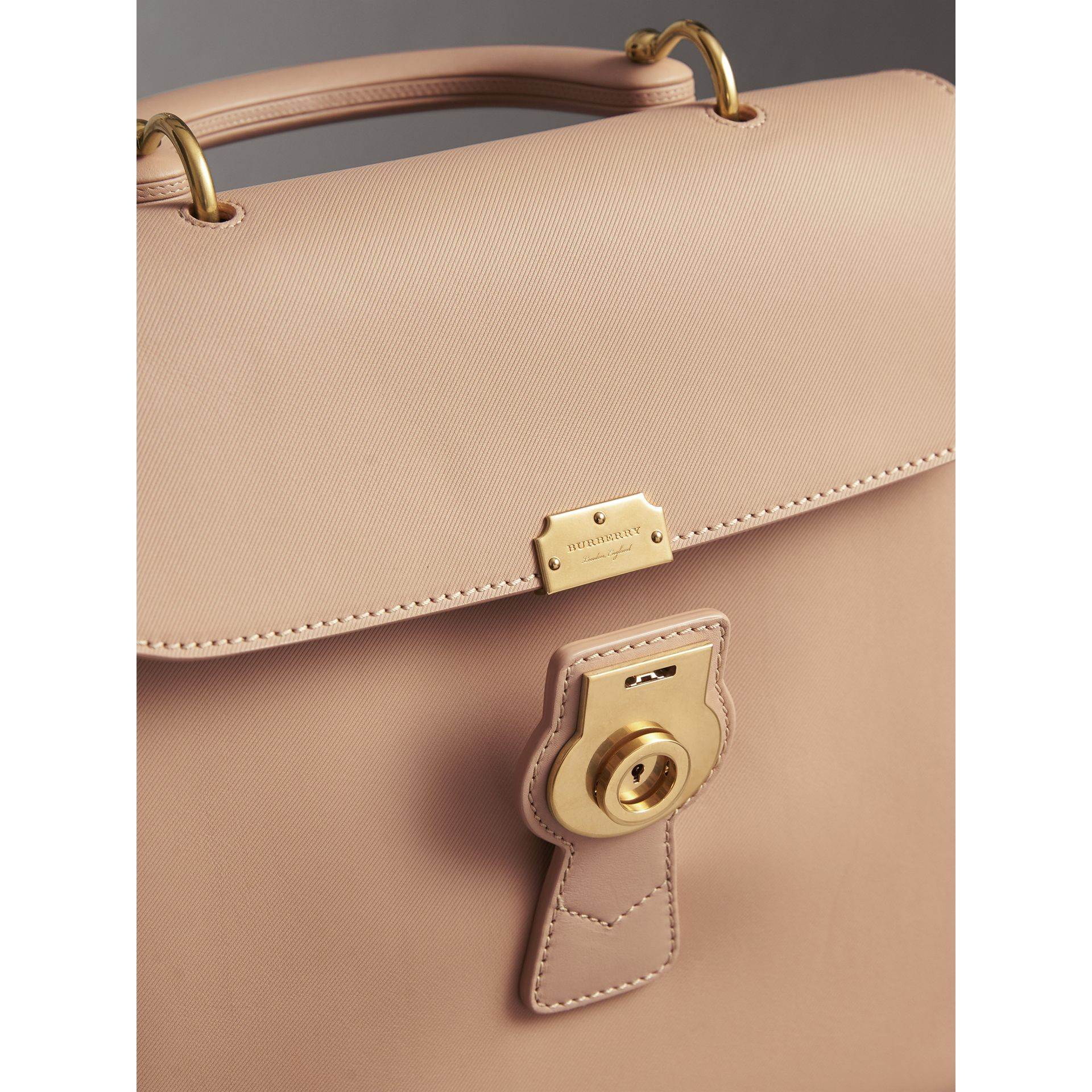 The Large DK88 Top Handle Bag in Honey - Women | Burberry Hong Kong - gallery image 1