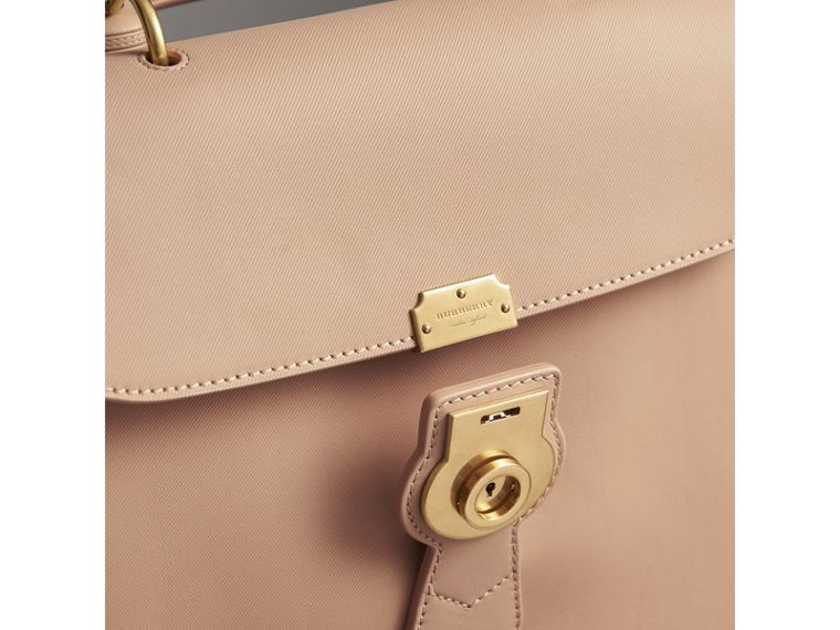 The Large DK88 Top Handle Bag in Honey - Women | Burberry Hong Kong - cell image 1