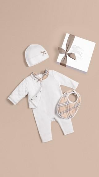 Cotton Four-piece Baby Gift Set
