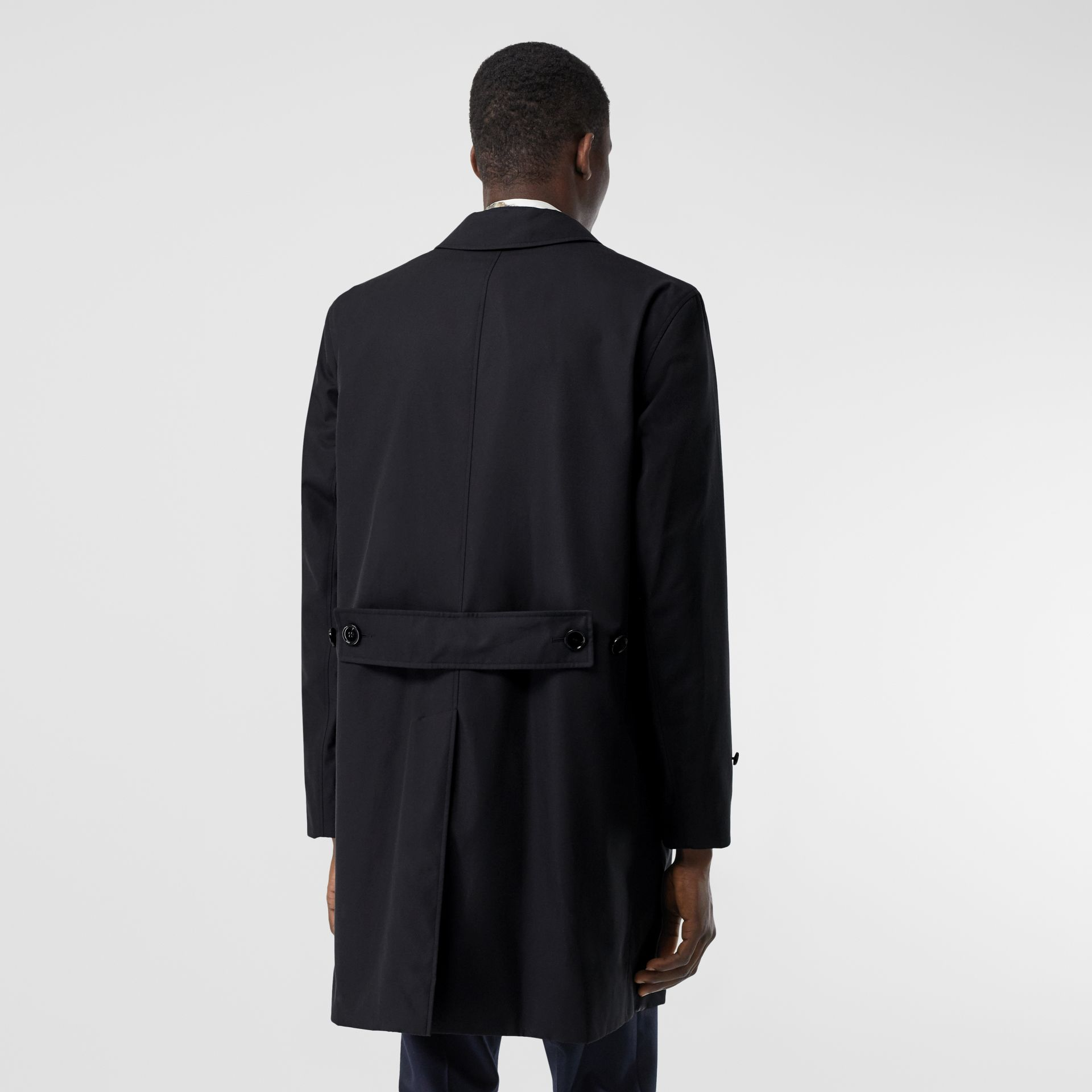 Cotton Gabardine Lab Coat in Midnight Navy - Men | Burberry - gallery image 1