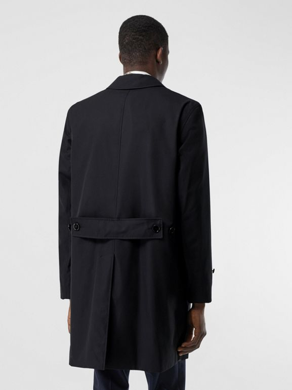 Cotton Gabardine Lab Coat in Midnight Navy - Men | Burberry - cell image 1