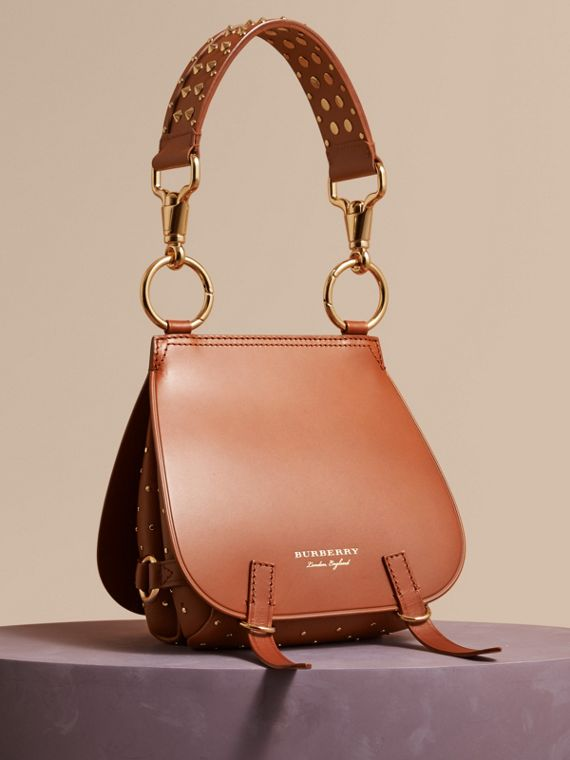 The Bridle Bag in Leather and Rivets Tan