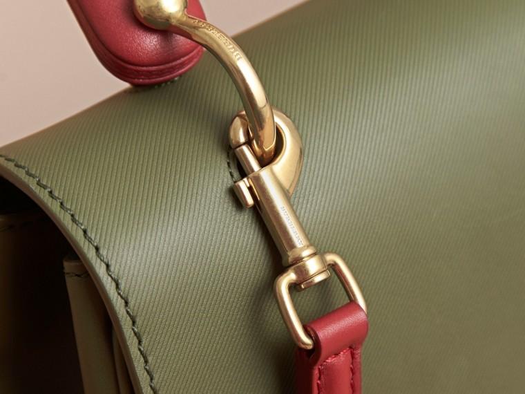 The Medium DK88 Top Handle Bag Moss Green - cell image 1