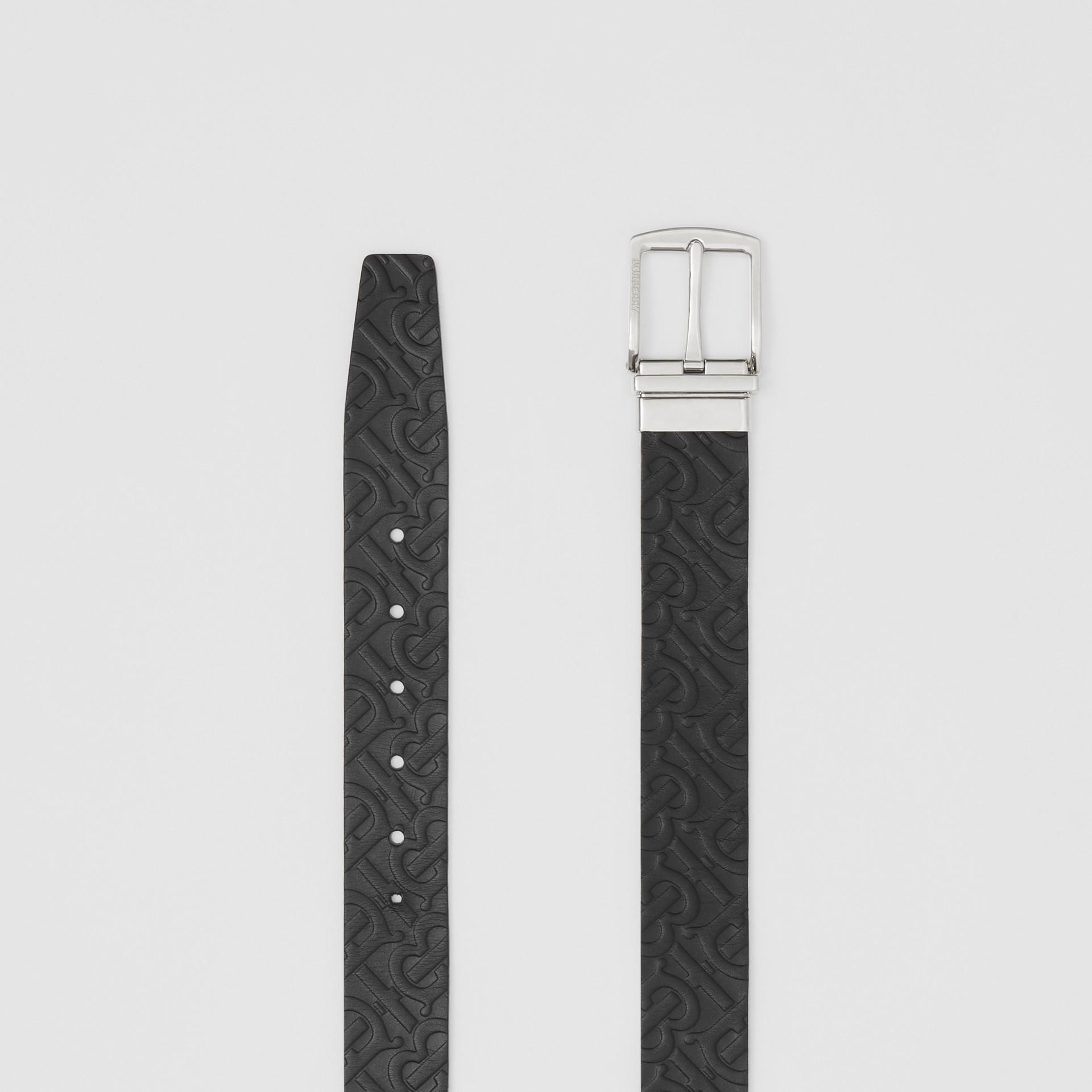 Wendbarer Ledergürtel mit Monogrammmotiv (Schwarz) - Herren | Burberry - Galerie-Bild 5
