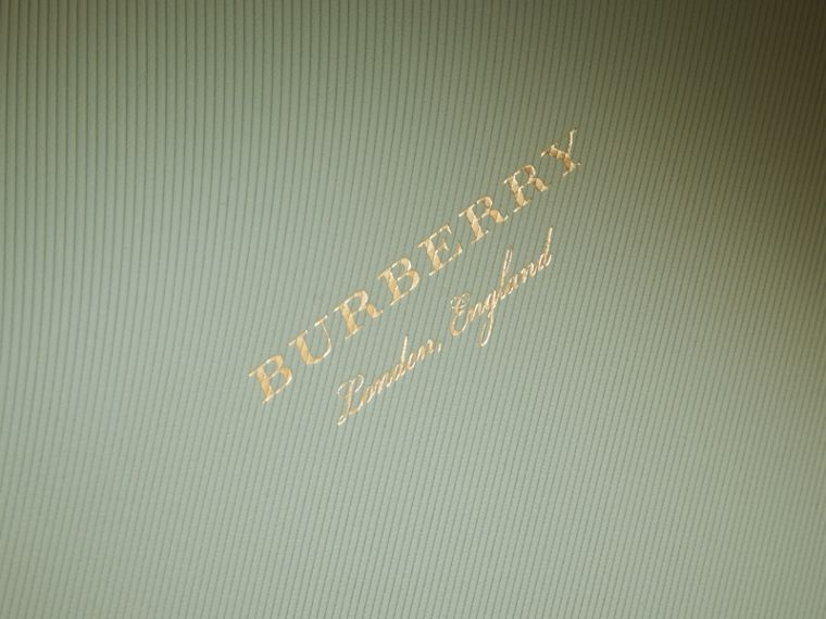 The Medium DK88 Top Handle Bag in Celadon Green - Women | Burberry - cell image 1
